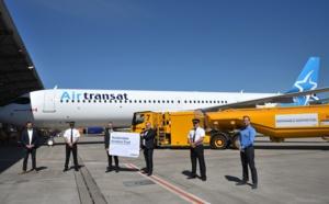 """Air Transat a effectué ses premiers vols """"carboneutres"""""""