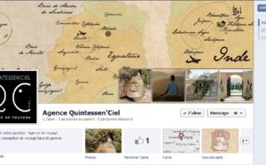 """II. Quintessen'Ciel : """" Facebook, outil de valorisation, plutôt qu'outil de vente..."""""""