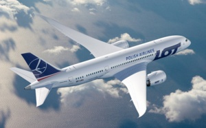 Nice - Varsovie : Lot Polish Airlines positionne un B787 Dreamliner