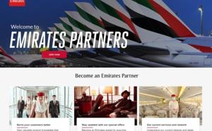 Emirates lance un portail pour les agents de voyages