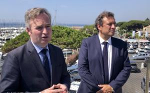 Var : Jean-Baptiste Lemoyne, secrétaire d'Etat au Tourisme, sur les chapeaux de roue !
