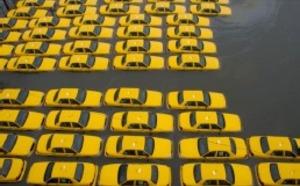Ouragan Sandy : à New York, les taxis peuvent prendre plusieurs clients en même temps