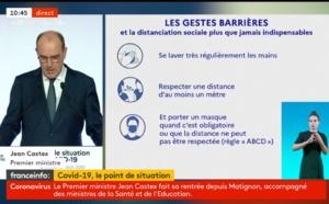 """Jean Castex : """"Notre objectif est de tout faire pour éviter un re-confinement généralisé"""""""
