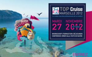 Marseille : l'édition 2012 de Top Cruise au coeur du Seatrade Med (Vidéo)