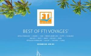 Hiver : FTI Voyages édite une brochure Best Of long et moyen-courrier
