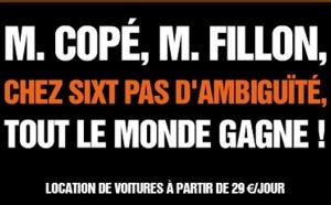 Sixt interpelle Copé et Fillon sur son site Internet