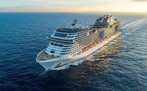 MSC Croisières met à l'honneur son dernier fleuron en Méditerranée pour la reprise de ses opérations