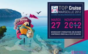 Top Cruise et le Seatrade Med jettent l'ancre à Marseille pour 3 jours