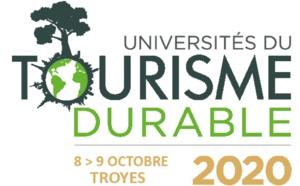 Les Universités du Tourisme Durable à Troyes les 8 et 9 octobre 2020