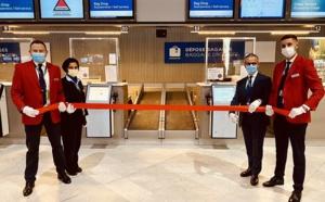 Aeromexico installe des bornes libre service pour l'enregistrement des bagages