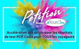 Tests PCR trop longs : Tourcom lance une pétition