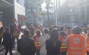 TUI France : les salariés ont réalisé une opération coup-de-poing à la Direccte (Vidéo)
