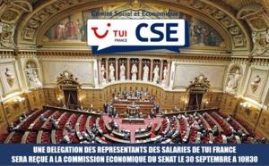 TUI France : une délégation du CSE reçue au Sénat