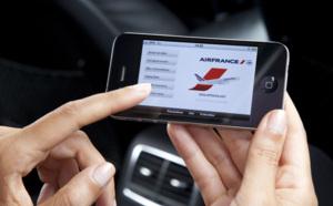 La moitié des réservations d'avion effectuées depuis un appareil mobile d'ici 2017
