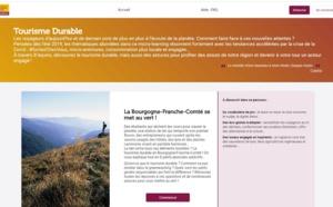 La plateforme développée par Artips pour Bourgogne-Franche-Comté Tourisme - DR