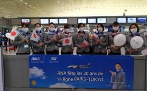 ANA : la ligne Paris-Tokyo souffle sa trentième bougie