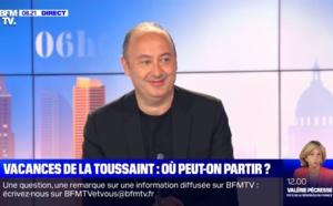 """Laurent Abitbol sur BFMTV : """"Il n'est pas question d'appliquer des frais d'annulation"""""""