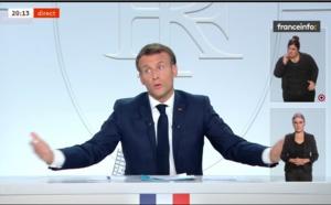 Emmanuel Macron : couvre-feu de 21h à 6h en Île-de-France et dans 8 métropoles