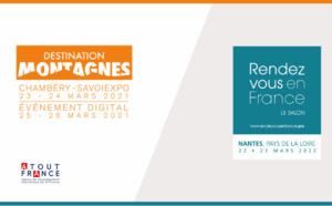 Atout France annonce le report des salons Grand Ski et Rendez-vous en France 2021