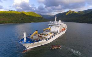 Polynésie : Voyage à bord du cargo mixte Aranui 5