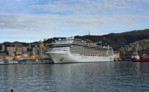 MSC Croisières : un 2e navire, le MSC Magnifica a pris la mer au départ de Gênes