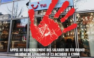 La CGT de TUI France appelle au rassemblement devant le siège vendredi