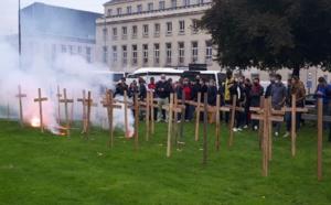 Normandie : quand les autocaristes manifestent pour demander de l'aide au Préfet et reçoivent... des PV !