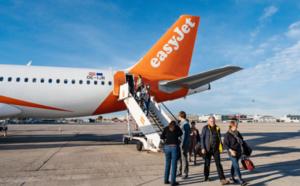 Retours de vacances : easyJet ajoute de la capacité sur ses vols en France