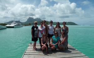 Polynésie française : 7 agences Tourcom découvrent la Perle du Pacifique !
