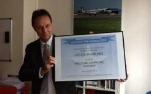 Goldenflyer Awards 2012 : LOT Polish Airlines élue Meilleure Compagnie
