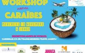 Caraïbes : workshop virtuel le 18 novembre pour les pros français