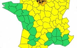 Neige et verglas : Météo France place 14 départements en alerte orange