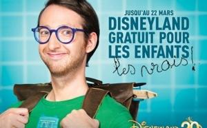 Disneyland Paris : campagne d'affichage pour les billets offerts aux enfants
