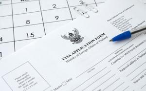 Thaïlande: actualisation des documents nécessaires à l'obtention du visa touristique