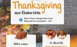 Thanksgiving : Voyage en français propose de cuisiner avec un chef en direct de... New York !