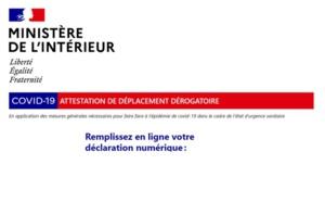 France : quelle est la nouvelle attestation de déplacement et ses motifs ?