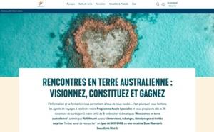 L'Office de tourisme d'Australie lance une nouvelle série de webinaires