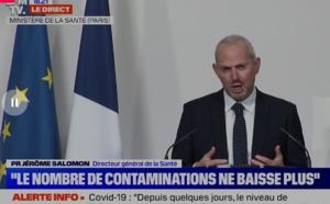 """Déconfinement : """"il sera très compliqué d'atteindre les objectifs"""" d'Emmanuel Macron, selon Jérôme Salomon"""