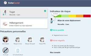 Covid-19 : quelle est l'application pour évaluer le risque lié à ses déplacements en France ?