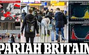 Covid-19 : avant le Brexit, l'Europe et le monde ferment déjà leurs portes à la Grande Bretagne