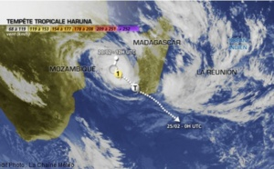 Cyclone Haruna : forts risques d'inondations à Madagascar ce 22 février 2013