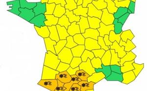 Neige : 7 départements du Sud-ouest de la France en alerte orange