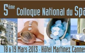 Colloque National du spa à l'Hôtel Martinez à Cannes