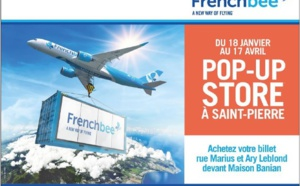 La Réunion : French Bee ouvre un pop-up store à Saint-Pierre