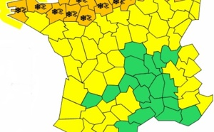 Météo France : 29 départements du Nord placés en alerte orange à la neige