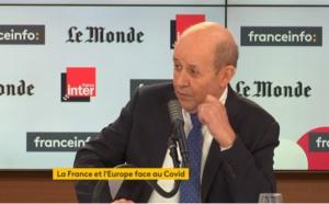 """Jean-Yves Le Drian : """"le principe c'est on ne voyage pas"""""""