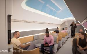 Virgin Hyperloop dévoile la future expérience client lors des trajets sur son module (vidéo)