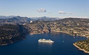 Croisières: la Côte d'Azur maintient son rang