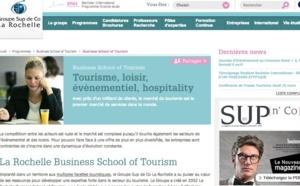 La Rochelle Business School of Tourism : l'école qui parie sur le tourisme