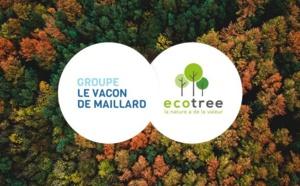 Le Groupe Le Vacon De Maillard s'engage avec Ecotree